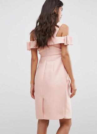 Роскошное плотное вечернее платье asos для беременных3