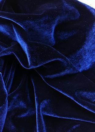 Бархатное платье миди платье на запах с королевского бархата3