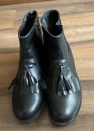 Ботинки, челси утеплённые2 фото