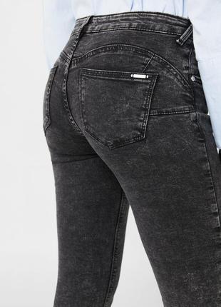 Шикарные джинсы push up от mango, 36, 42, 44р, испания, оригинал