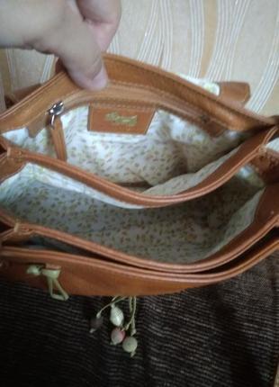 Кожаная сумка4 фото