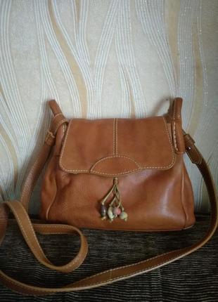 Кожаная сумка1 фото