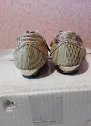 Туфли — кроссовки кожаные3