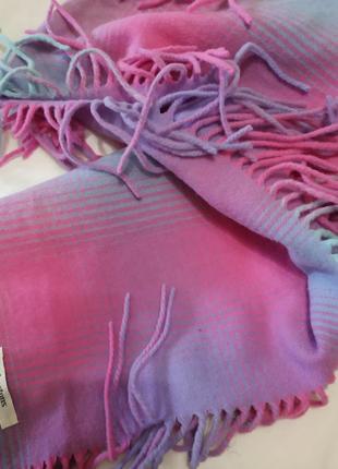 Шотландский шерстяной шарф johnstons 100%lambswool2 фото