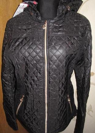 Чорна курточка black&red розміри м/l/xхl нова бірки1