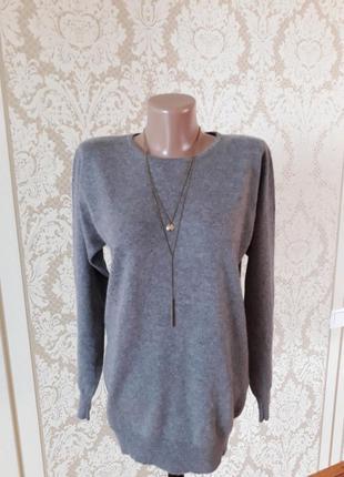 Кашемировый фирменный мягусенький свитер джемпер 100%pure cashemir1
