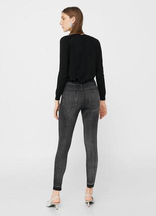 Шикарные джинсы с высокой посадкой от mango, 36, 40р, испания2
