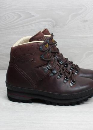Кожаные зимние ботинки meindl оригинал, размер 38.5 - 39 (vibram)1