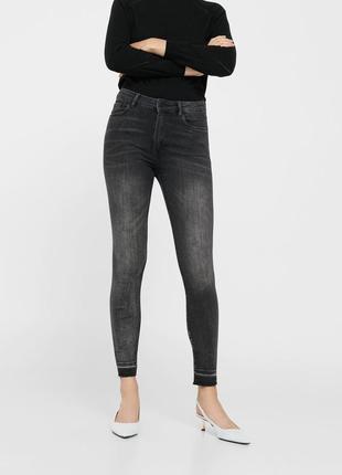 Шикарные джинсы с высокой посадкой от mango, 36, 40р, испания3