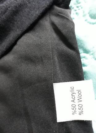 Яркое ангоровое платье с воротником-хомутом от kamelia5