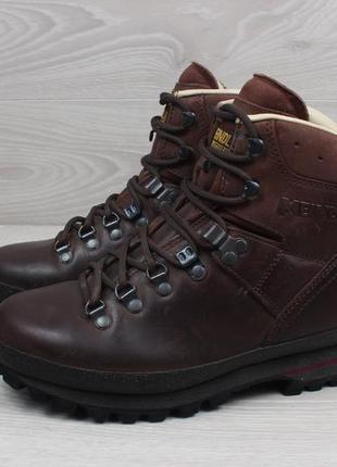 Кожаные зимние ботинки meindl оригинал, размер 38.5 - 39 (vibram)5