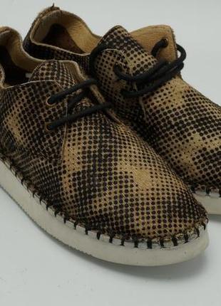 Женские туфли на шнурках (стриженый мех пони) марути италия1
