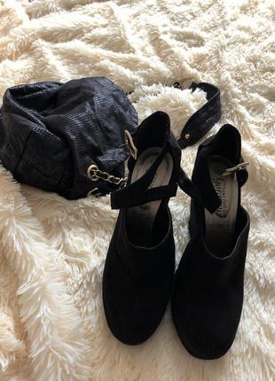 Замшевые туфли new look2