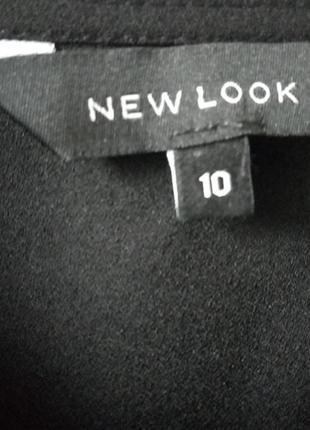 Черное синее короткое платье new look.3