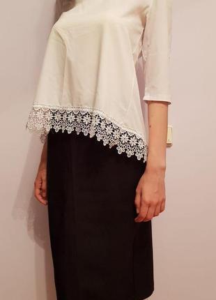 Женский костюм (юбка + блузка)1