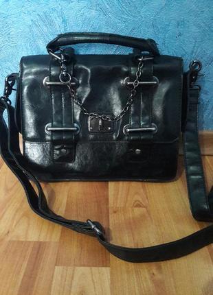 🔥sale🔥красивая  и вместительная маоенькая черная сумка кроссбоди1