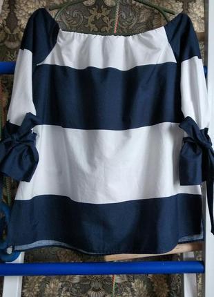 Блузка с открытыми плечами от zara1
