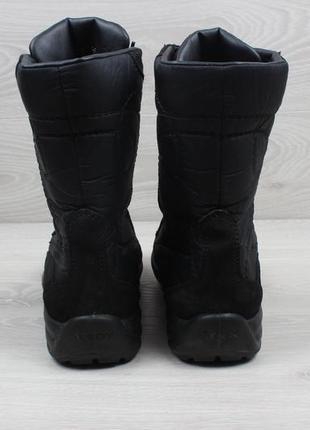 Зимние ботинки geox оригинал, размер 39 (замшевые сапоги, дутики, джеокс gore-tex)2