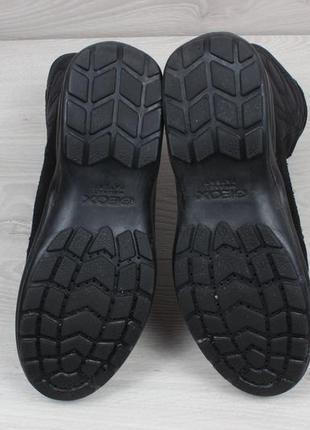 Зимние ботинки geox оригинал, размер 39 (замшевые сапоги, дутики, джеокс gore-tex)4