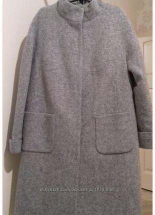 Пальто женское nio злата 46р.(m-l) зима, утеплитель slimtex2