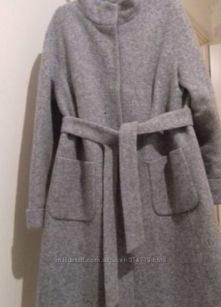 Пальто женское nio злата 46р.(m-l) зима, утеплитель slimtex1