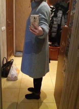Пальто женское nio злата 46р.(m-l) зима, утеплитель slimtex4