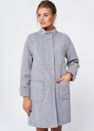 Пальто женское nio злата 46р.(m-l) зима, утеплитель slimtex5