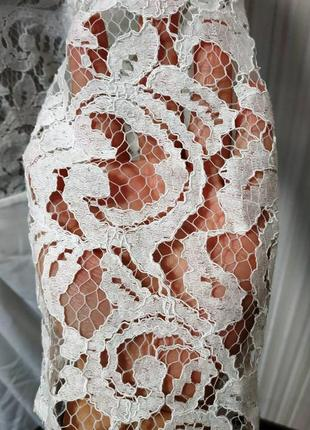 Красивое,нарядное,белоснежное платье4