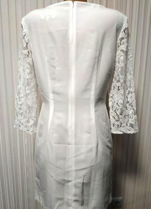 Красивое,нарядное,белоснежное платье5