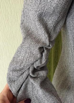 Фирменный пиджак с укороченными рукавами4