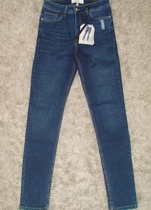Шикарные джинсы с высокой посадкой от mango, 36, 38, 40р, испания5