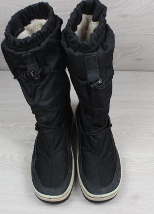 Зимние ботинки ecco оригинал, размер 41 - 42 (сапоги экко gore-tex)2