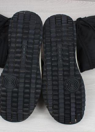 Зимние ботинки ecco оригинал, размер 41 - 42 (сапоги экко gore-tex)4