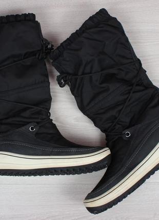 Зимние ботинки ecco оригинал, размер 41 - 42 (сапоги экко gore-tex)5