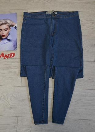 Стильные скинни джинсы с высокой талией посадкой5 фото