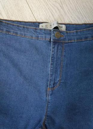 Стильные скинни джинсы с высокой талией посадкой2 фото