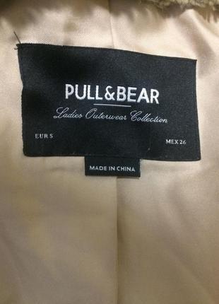 Шуба pull&bear3