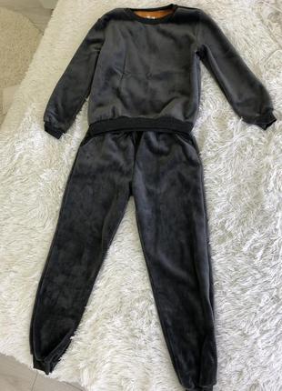 Бархатний костюм на флісі3