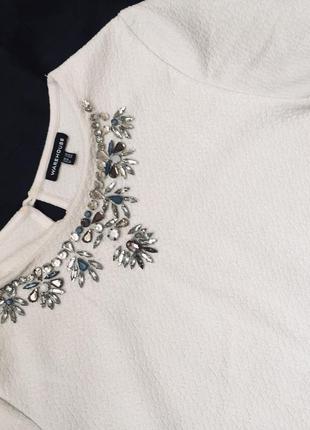 Шикарный нарядный топ/ футболка3