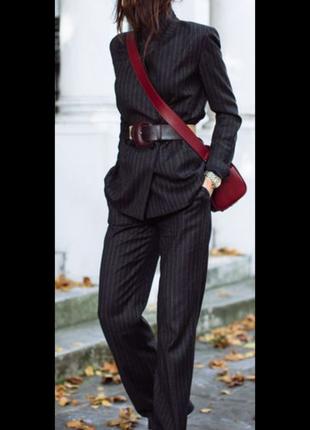 Пиджак в полоску h&m1 фото