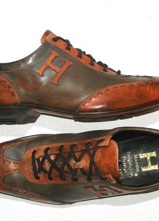 Calzoleria harris мужские туфли спортивного стиля luxury hand made