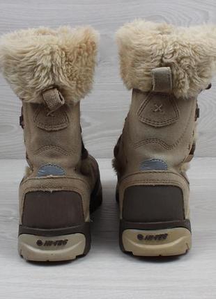 Женские зимние ботинки hi-tec waterproof (с мехом, thinsulate, замшевые)3
