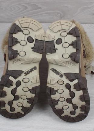 Женские зимние ботинки hi-tec waterproof (с мехом, thinsulate, замшевые)4