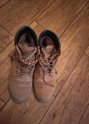 Ботинки черевики зима замш2