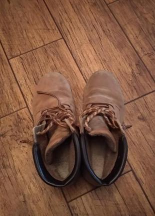 Ботинки черевики зима замш3