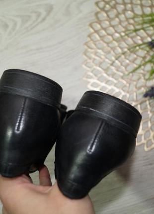 (40/26см) clarks! кожа! классные туфли, оксфорды на низком ходу2