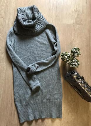 Удлинённый свитер ,туника s-m1 фото