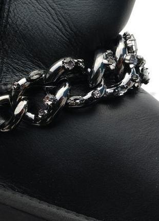 Шикарные угги  со съёмным браслетом ugg big chain3