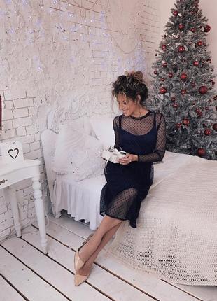Платье в горох berichlook1 фото