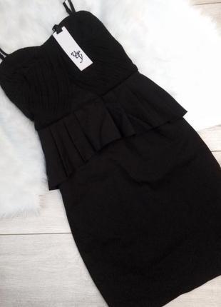 Класична чорна сукня-карандаш
